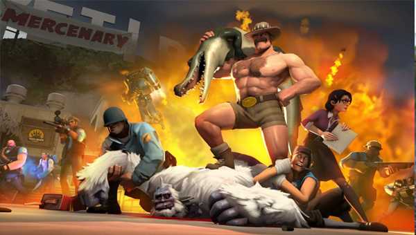 TEAM FORTRESS 2 игра шутер