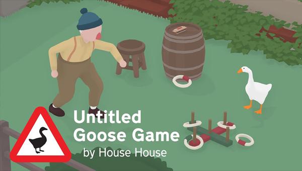 UNTITLED GOOSE GAME игра