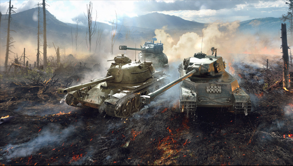 World of Tanks Виктор Кислый