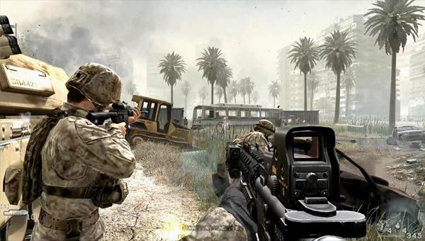 Call of Duty 4: Modern Warfare игра
