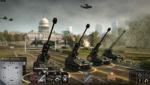 Tom Clancy's Endwar игра