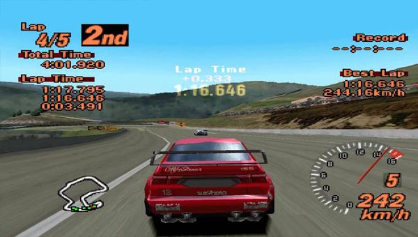 игра Gran Turismo 2