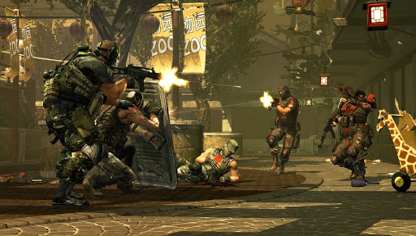 игра Army of Two: The 40th Day