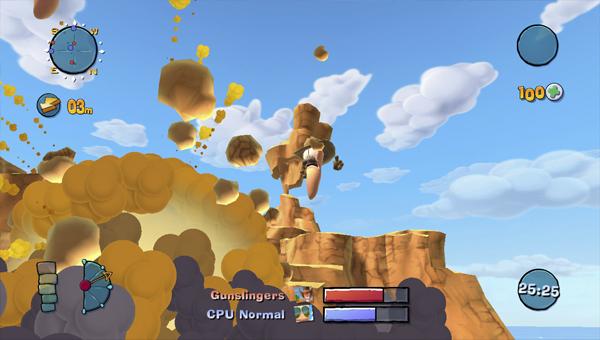 Worms Ultimate Mayhem игра