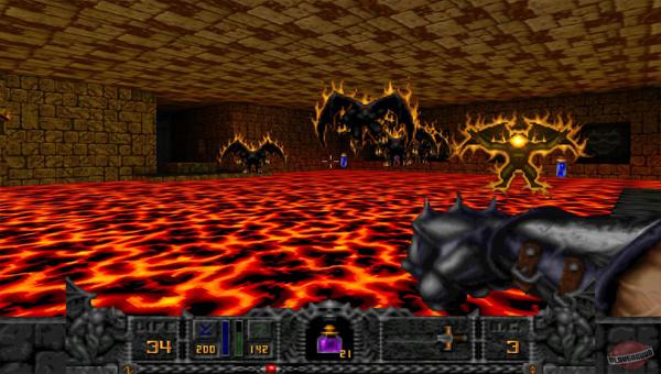 Hexen: Beyond Heretic игра