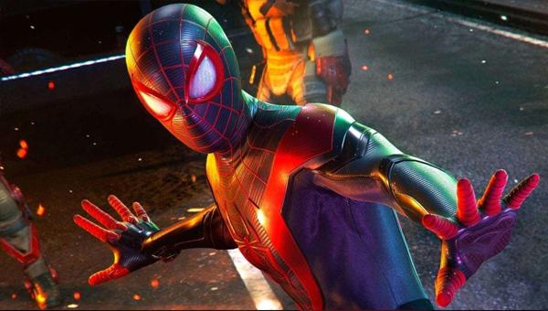 игра Marvel's Spider-Man Miles morales