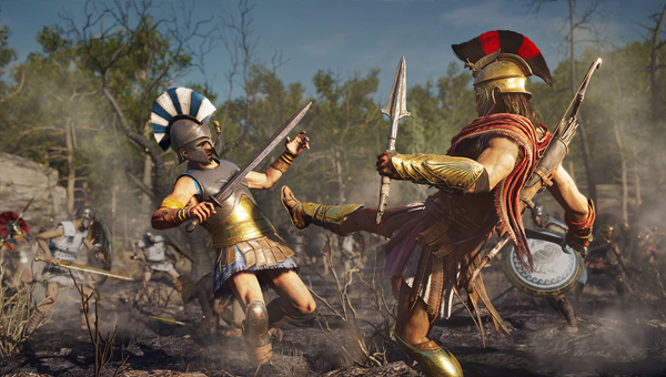 игра Assassin's Creed Odyssey