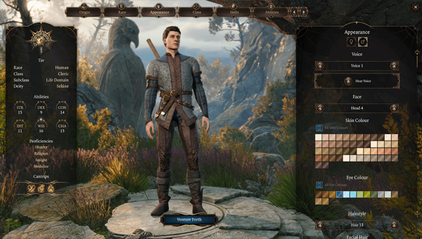 Белый мужчина стал самым популярным персонажем в игре Baldur's Gate 3