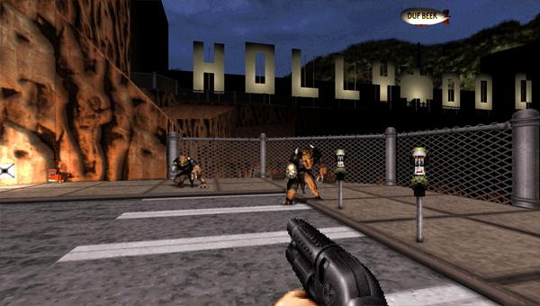 Duke Nukem 3D игра