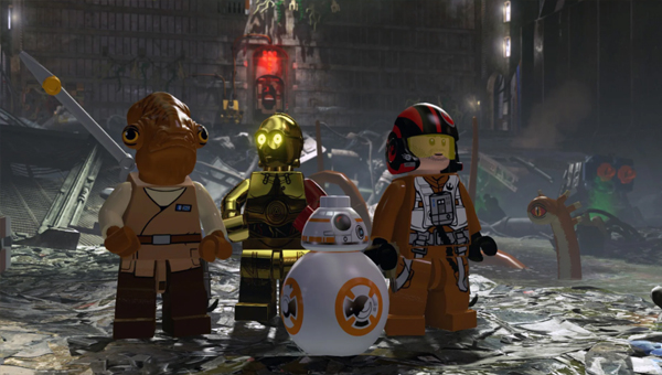 игра Lego Star Wars The Force Awakens