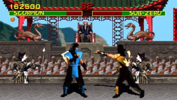 Mortal Kombat игра 1992