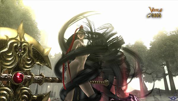 Bayonetta — Волосы