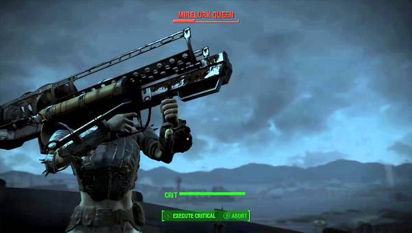 Fallout 4 — Fat Man игра оружие