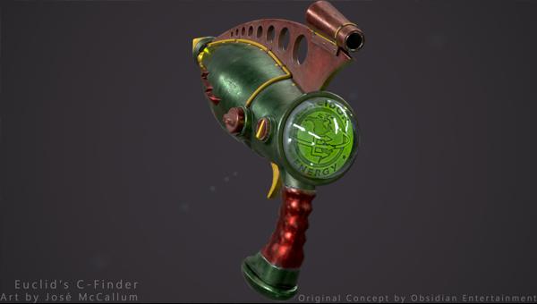 крутое оружие Fallout: New Vegas — Euclid's C-Finder