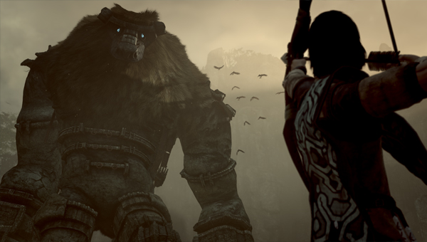 Shadow Of The Colossus игра