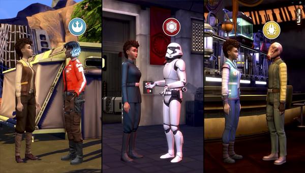 Дополнение The Sims 4: Путешествие на Батуу