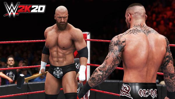WWE 2K20 игра