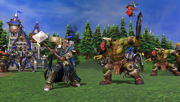 игра Warcraft III: Reforged