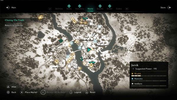 Тайник в Assassins Creed Valhalla