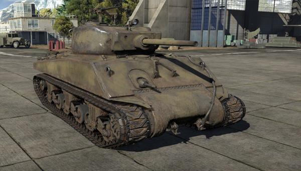 средний танк шестого уровня М4А3Е2