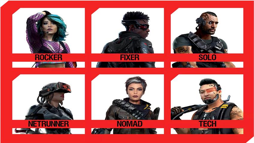 Cyberpunk-2077 классы