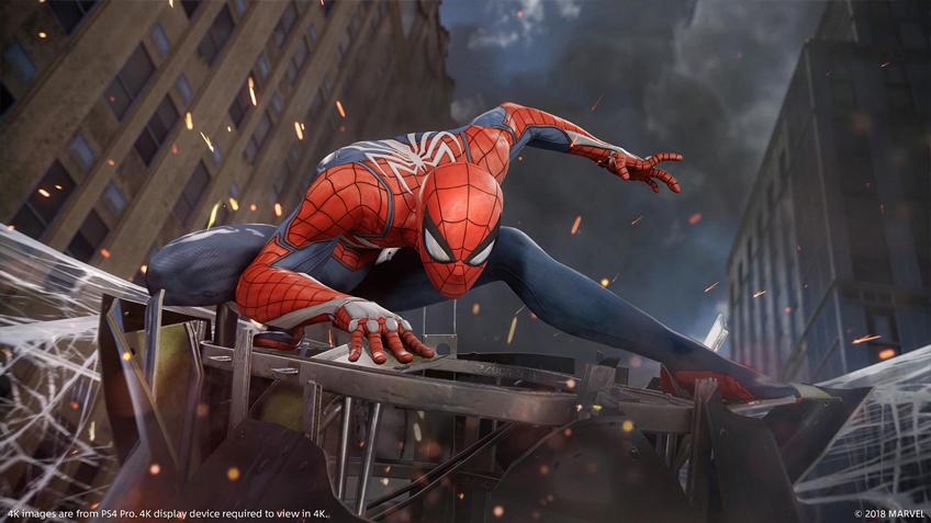 игра Spider-Man (2018)